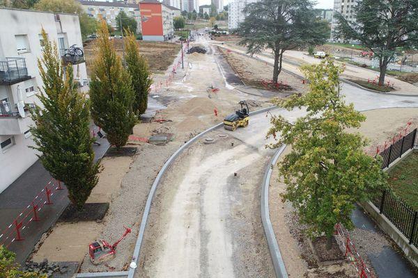 Trottoirs, pistes cyclables, pépinière et jeux d'enfants sont au programme des travaux de rénovation.