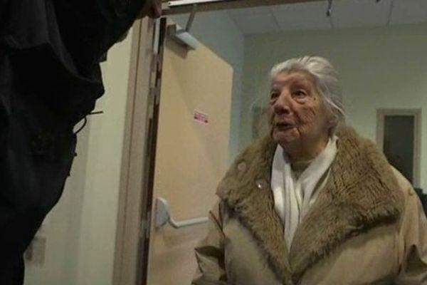 Jeanne Meyniel, 99 ans est candidate suppléante Front National aux élections départementales