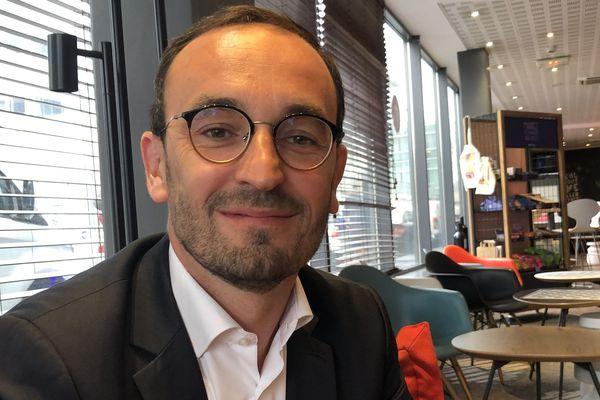 Thomas Cazenave, candidat Renouveau Bordeaux (LREM) pour les Municipales 2020.