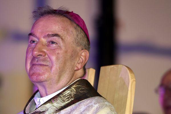 Luigi Ventura, nonce apostolique en France, lors d'une ordination à Epinal en 2016.