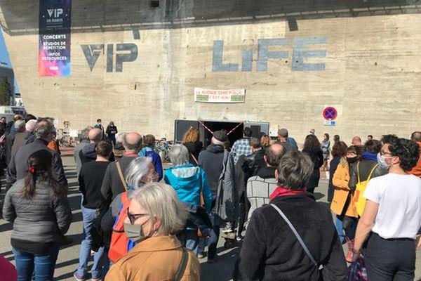 Mobilisation devant le VIP le samedi 20 mars à Saint-Nazaire