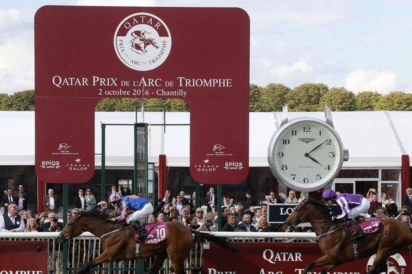 Prix de l'Arc de Triomphe : la jument irlandaise Found remporte la course