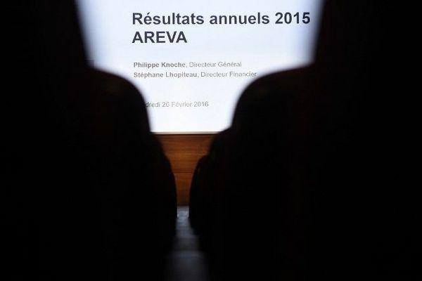 Le groupe nucléaire Areva accuse une perte nette de 2 milliards d'euros en 2015.
