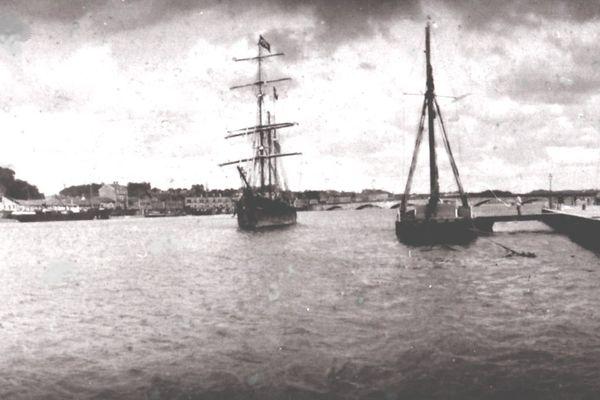 Le Biscaye a sombré en 1902 à la Martinique lors de l'éruption du volcan de la Montagne Pelée. Le navire avait été construit à Bilbao en 1878