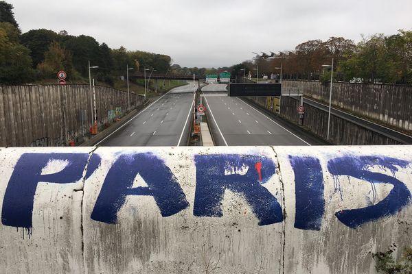 """Le tunnel de Saint-Cloud a été fermé pour une """"durée indéterminée""""."""