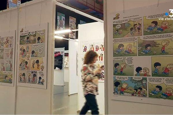 La 17e édition du festival de la BD d'Ajaccio se tient jusqu'à dimanche.