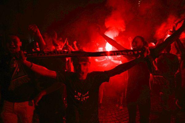 Dès le coup de sifflet final, les Marseillais ont exulté