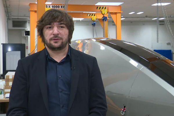 Emeuric Gleizes est le fondateur de la start-up Spacetrain, à Cercottes près d'Orléans