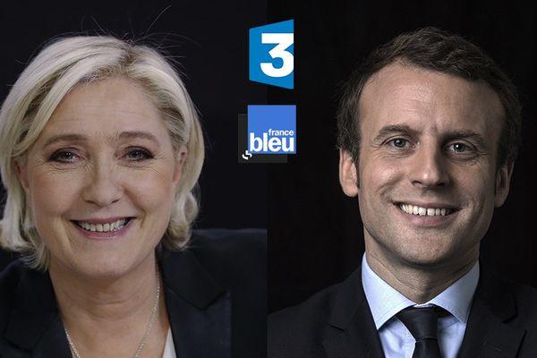 Ce vendredi 28 avril à 8 heures 10, les réseaux régionaux de France 3 et France Bleu proposeront un entretien exclusif de Marine Le Pen au lendemain de son meeting à Nice. Samedi 29 avril, à la même heure, Emmanuel Macron en direct de Poitiers et dans les mêmes conditions, répondra à nos questions.