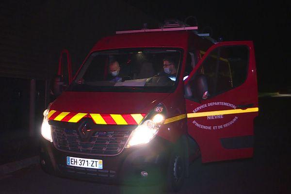 A 5 h, ce mardi 13 octobre, les jeunes pompiers de Nevers ont pris la route pour apporter des dons aux sinistrés des Alpes-Maritimes.