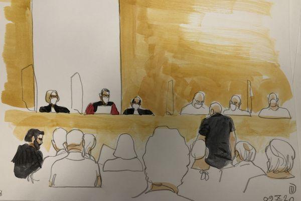 Au deuxième jour du procès du meurtrier présumé d'Amandine Estrabaud, la cour s'est intéressé à l'enquête qui a conduit à Guerric Jehanno.