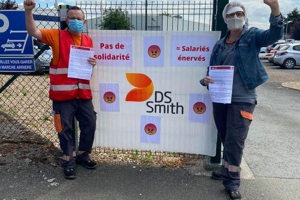 Grève chez DS Smith.