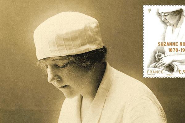 """Suzanne Noël réparait les """"gueules cassées"""" durant la Premiere guerre mondiale"""
