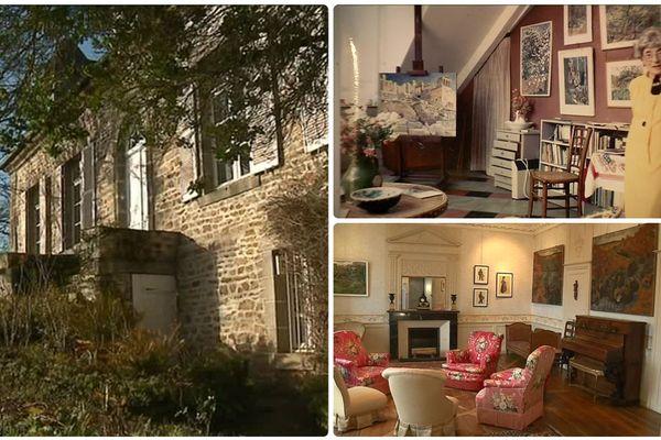 La maison d'artiste de la Grande Vigne appartenait au peintre Yvonne Jean-Haffen