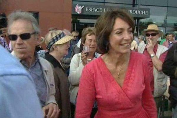 Marisol Touraine, ministre de la Santé, invitée de la 14e fête de la Rose à Ingré (Loiret) - 14 sept 2014