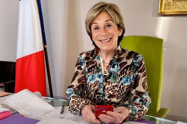 Brigitte Barèges a été réélue maire de Montauban aux dernières élections municipales
