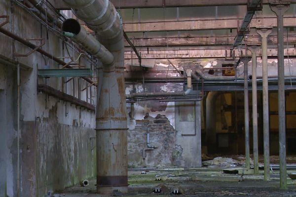 Ancienne usine à Condé-sur-Noireau