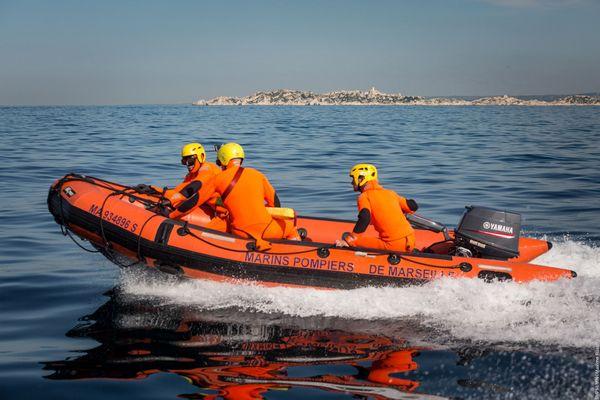 Les marins-pompiers de Marseille en intervention sur le littoral