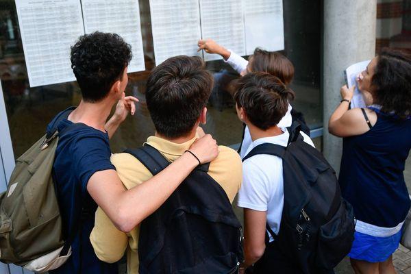 Les élèves attendent avec impatience leurs résultats