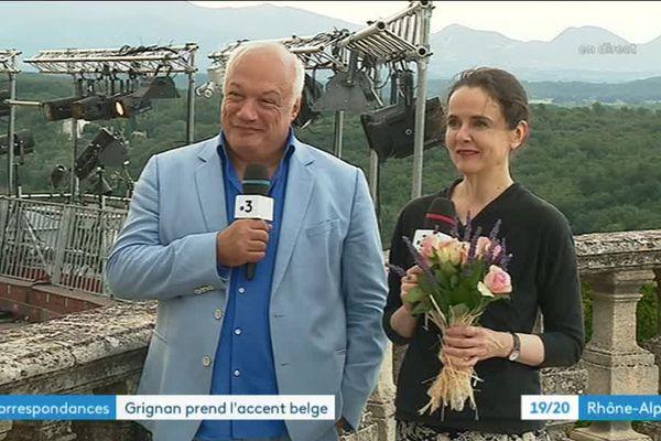 Amélie Nothomb et Eric-Emmanuel Schmitt président le 23e festival de la correspondance de Grignan