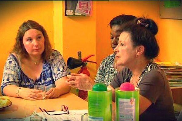 L'écrivain Marie Murski anime l'atelier de parole