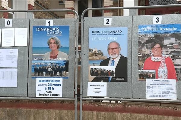Trois listes pour ce second tour des élections municipales de Dinard