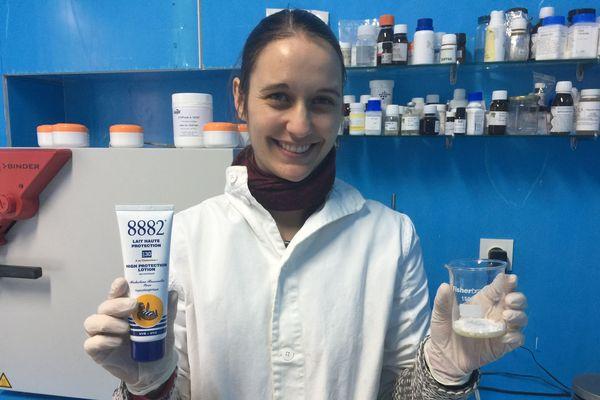 Justine Bugeat, ingénieur chimiste avec la crème Olympique !