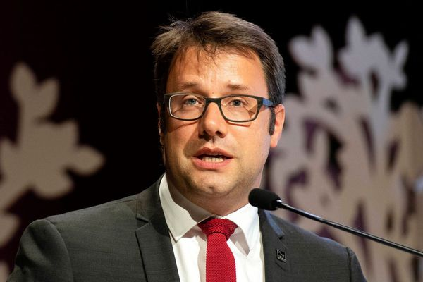 Loïg Chesnais-Girard, président du conseil régional de Bretagne à Saint-Brieuc, le 7/06/2019