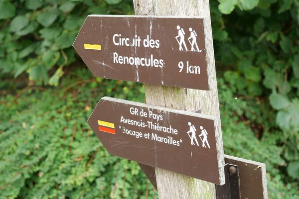Les circuits de promenades autour de Maroilles