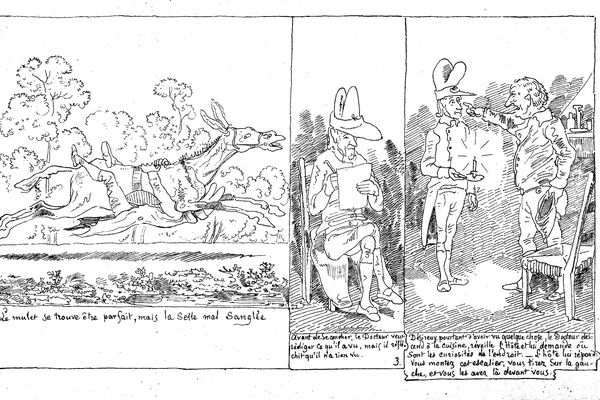 Les dessins de Rodolphe Töpffer sont considérés comme les premières BD.