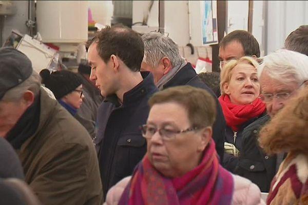 Les clients des halles de Limoges n'ont pas perdu leurs repères.