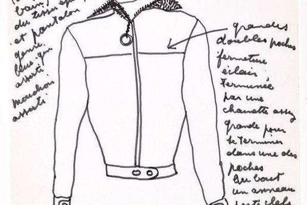 Dessin de Jean Marais.