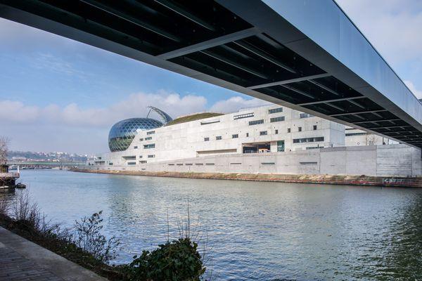 La Seine musicale, sur l'île Seguin.