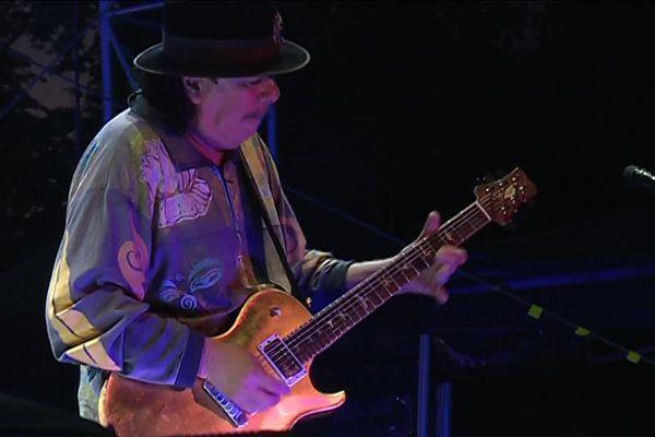 Carlos Santana a fait explosé les compteurs de fréquentation du Cognac Blues Passions.