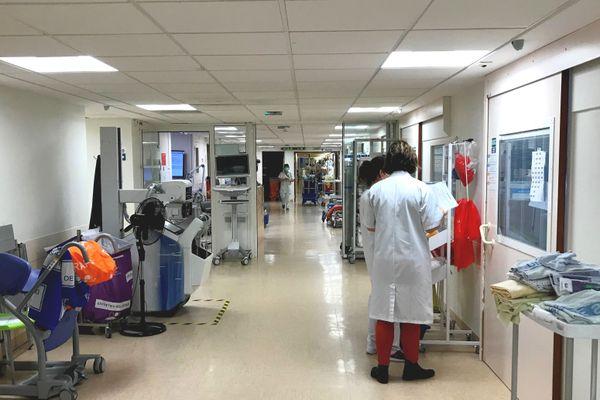 Des soignants mobilisés au service de réanimation du CHU de Nantes