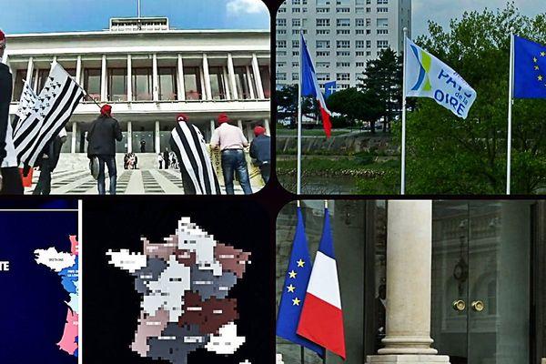 """Le """"Storytelling"""" de la non fusion ou de l'indépendance confirmée des Pays de la Loire de ces dernières 24 heures."""