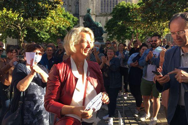Isabelle Asssih remporte la mairie de Quimper. Et remet Quimper à gauche