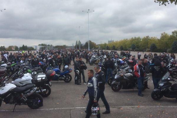 Les motards protestent (photo d'archive).