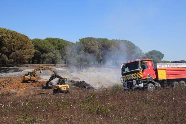 Les feux de broussailles se sont multipliés ce samedi 20 juin dans le Gard