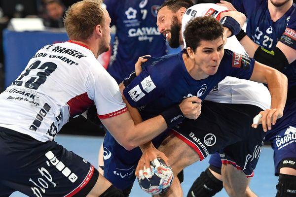 Le Paris SG affrontera Nantes et Montpellier sera opposé au Vardar Skopje, tenant du titre, en demi-finale de la Ligue des champions de handball à Cologne, le 26 mai, selon le tirage au sort effectué mercredi.