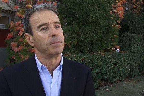 Jean-Michel Germa, l'ex-PDG et fondateur de la filiale d'Engie (ex-GDF Suez) spécialisée dans l'éolien : La Compagnie du Vent - novembre 2015