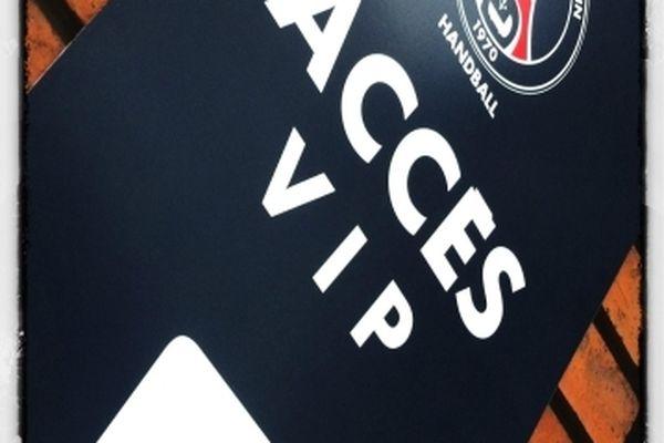 Bienvenu au PSG Handball. Accès Very Important Players.