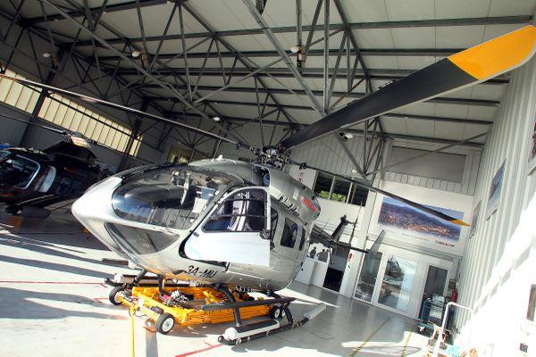 Monacair effectue des liaisons en hélicoptère avec la ville italienne de Limone.