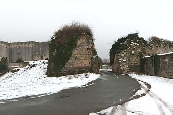 Parmi les 6 projets axonais financés par cette première enveloppe du Loto du patrimoine, les tours de l'enceinte de Philippe Auguste à La Ferté Millon.