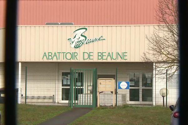 L'abattoir de Beaune, le mercredi 5 février 2020.