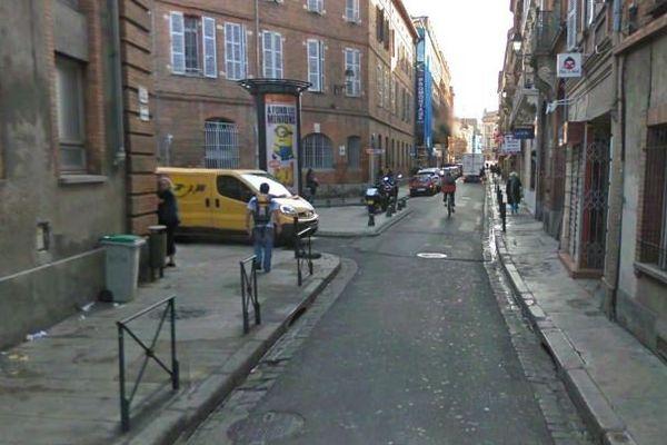 Rue Pargaminières à Toulouse