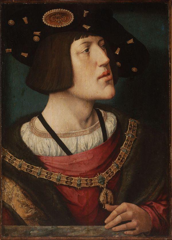 Charles V peint vers 1515-16, au moment de son élection, par Bernard van Orley.