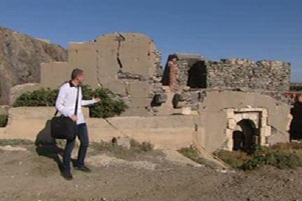 Plusieurs centaines de blokhaus ont été érigés le long du littoral méditerranéen.