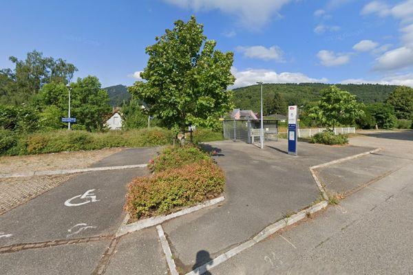 La petite gare de Bitschwiller-lès-Thann.