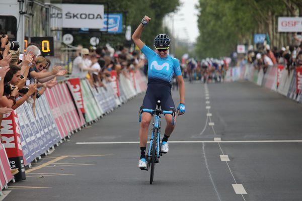 La cycliste Aude Biannic a été sacrée championne de France sur route